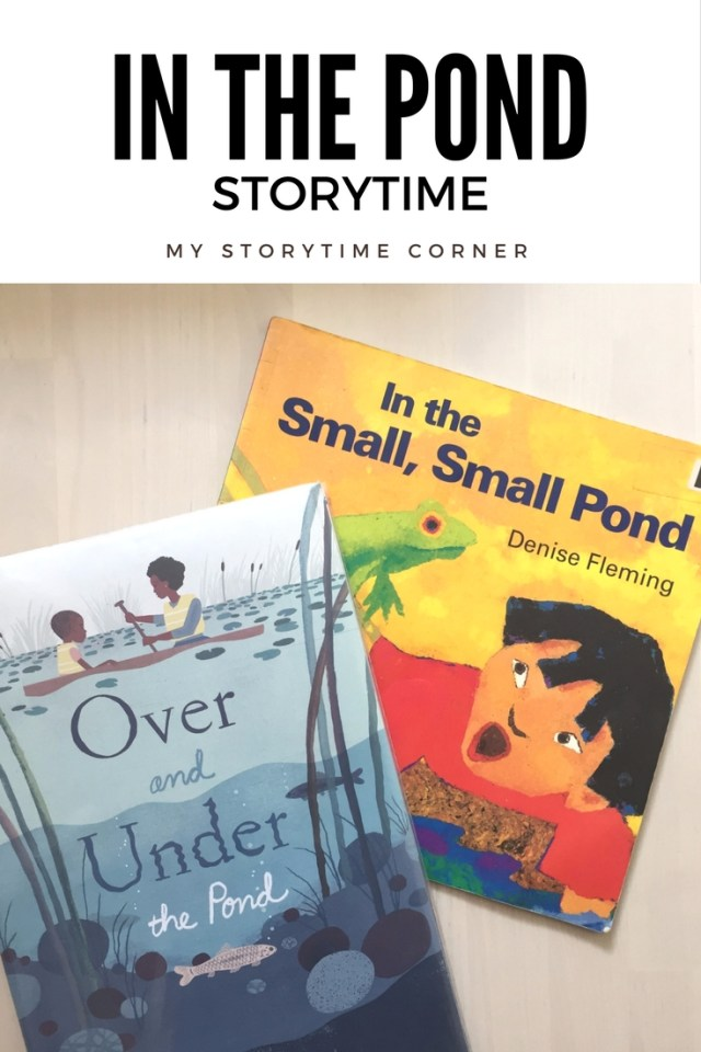 In the pond story time