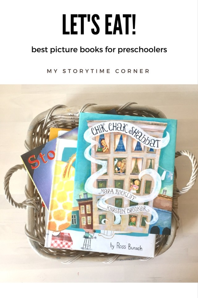 lets eat food picture books for preschoolers