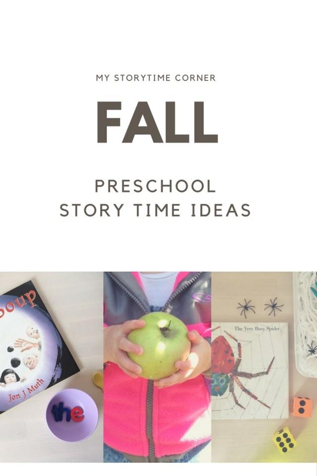 Fall Preschool Story Time Ideas
