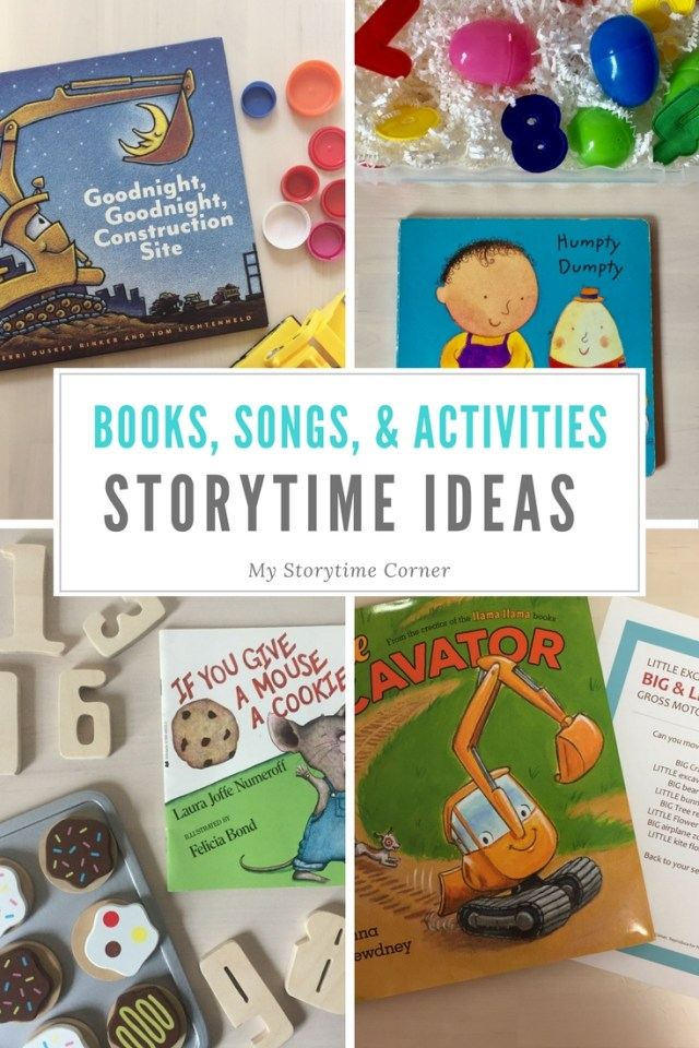 Best Story Time Ideas including Books, Songs and Activities on a Variety of Story Time Themes