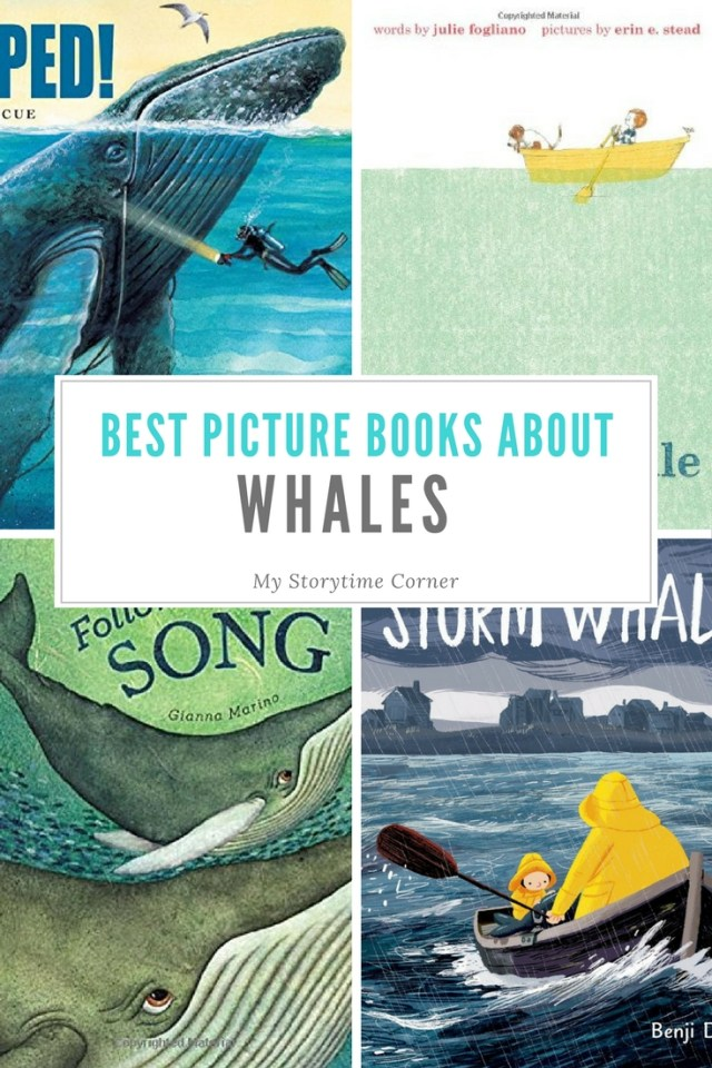Best Picture Books for Preschoolers about Whales