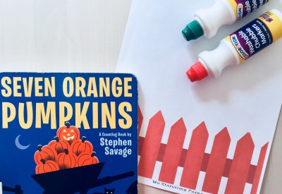 Pumpkins on the Gate Invitation