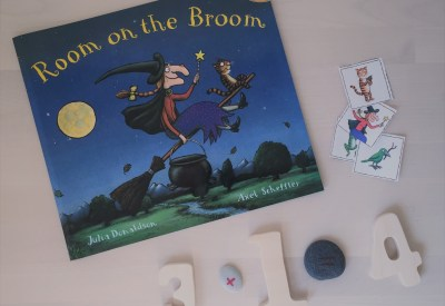 Room on the Broom Preschool Math