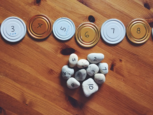 DIY Number Line Morning Invitation Idea from My Storytime Corner