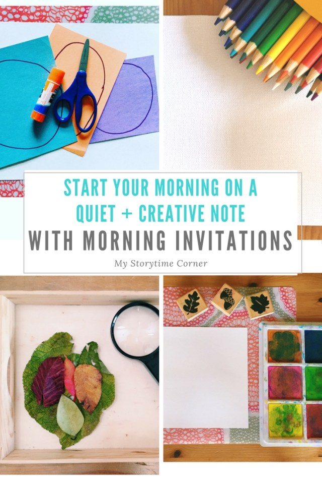 30+ Morning Invitation Ideas to start your day on a creative note