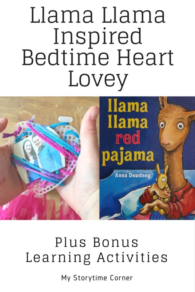 Llama Llama Red Pajama Inspired Bedtime Heart Lovey plus Bonus Learning Activities with the Virtual Book Club for Kids