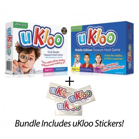 Ukloo Early Reader Treasure Hunt Game for Kids