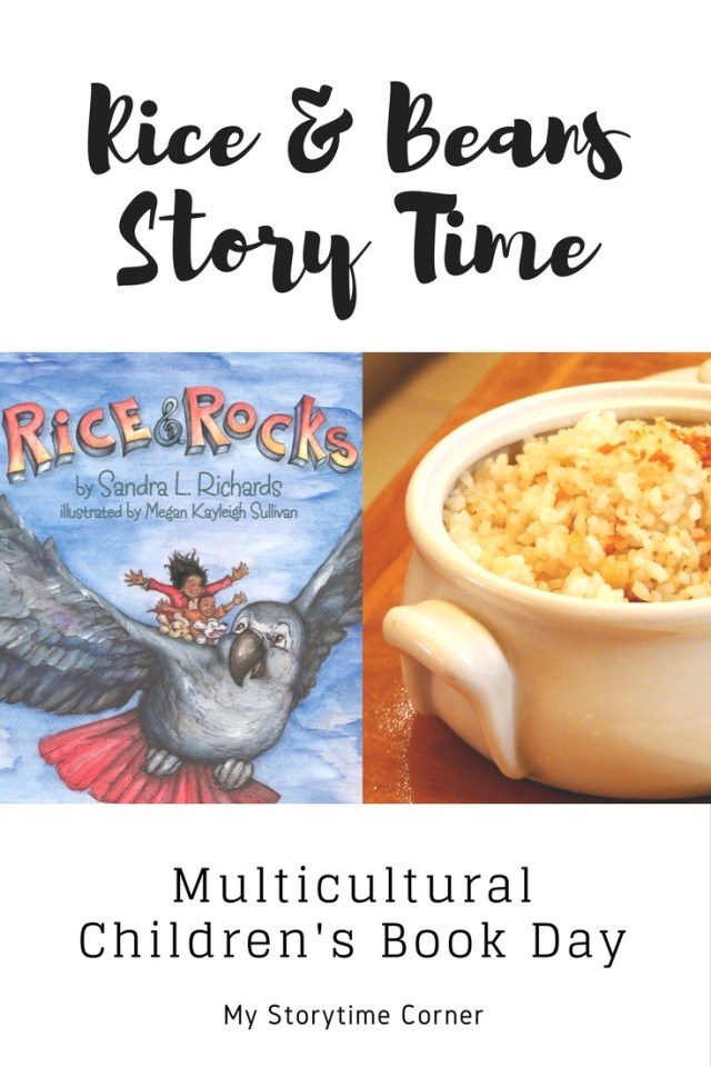 Rice and Beans Story Time for Multicultural Children's Book Day