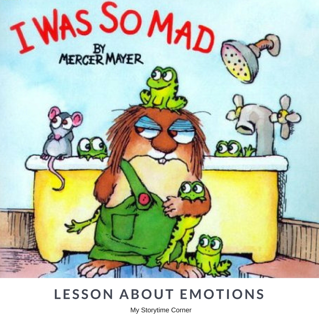 Simple Book Inspired Lesson About Emotions