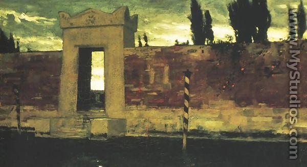 Cemetery in Venice - Ladislas Wladislaw von Czachorski