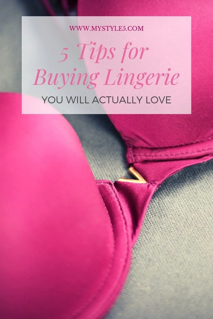 A 5 Step Guide for Buying Lingerie You Will Absolutely Love