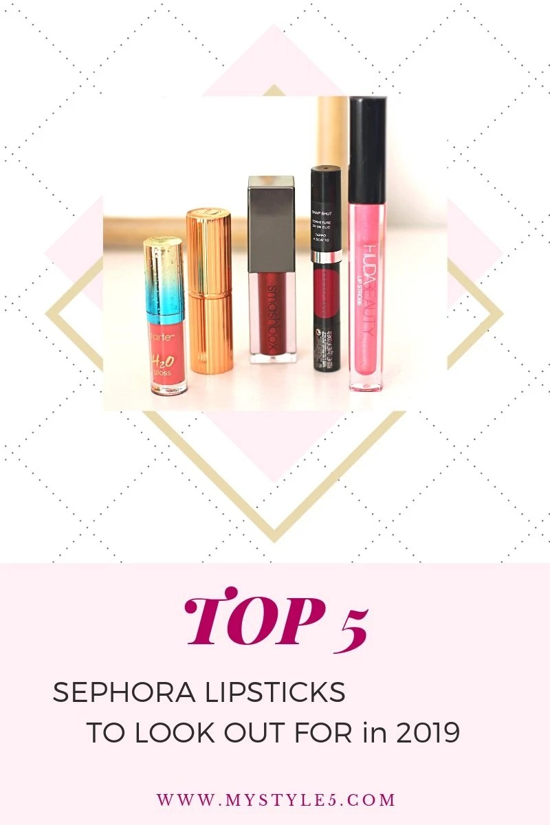 best sephora lipsticks mystyle5