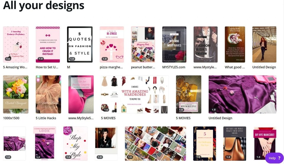 canva designs best blogging tools