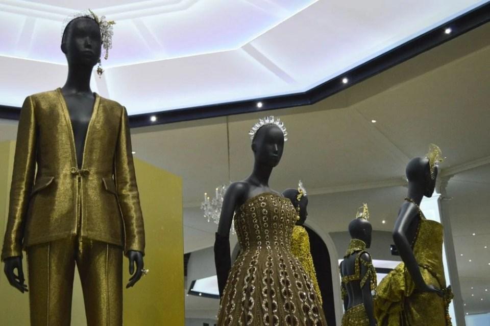 Christian Dior ballroom V&A