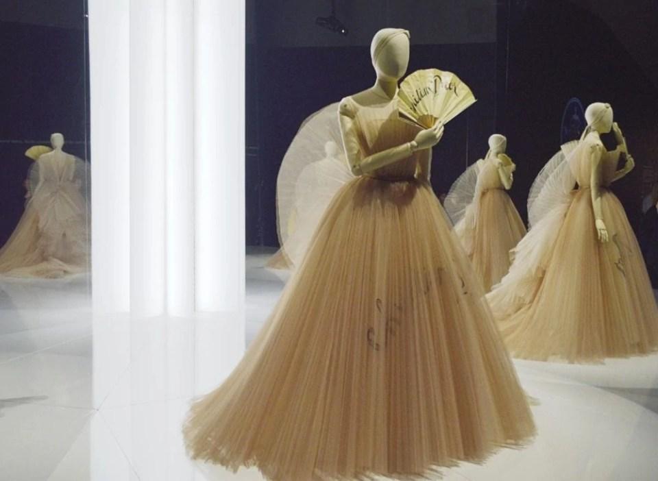 Christian Dior pleated dress.jpg