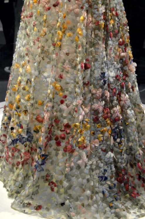 Vintage Christian Dior floral dress