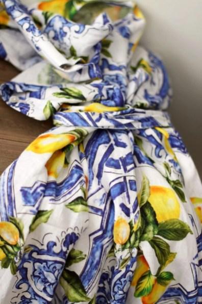 majolica dress italy style