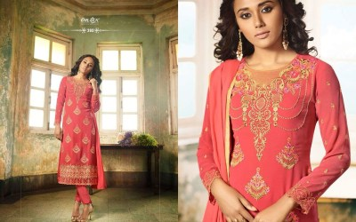 Sanaya salwar suits collection by Omtex