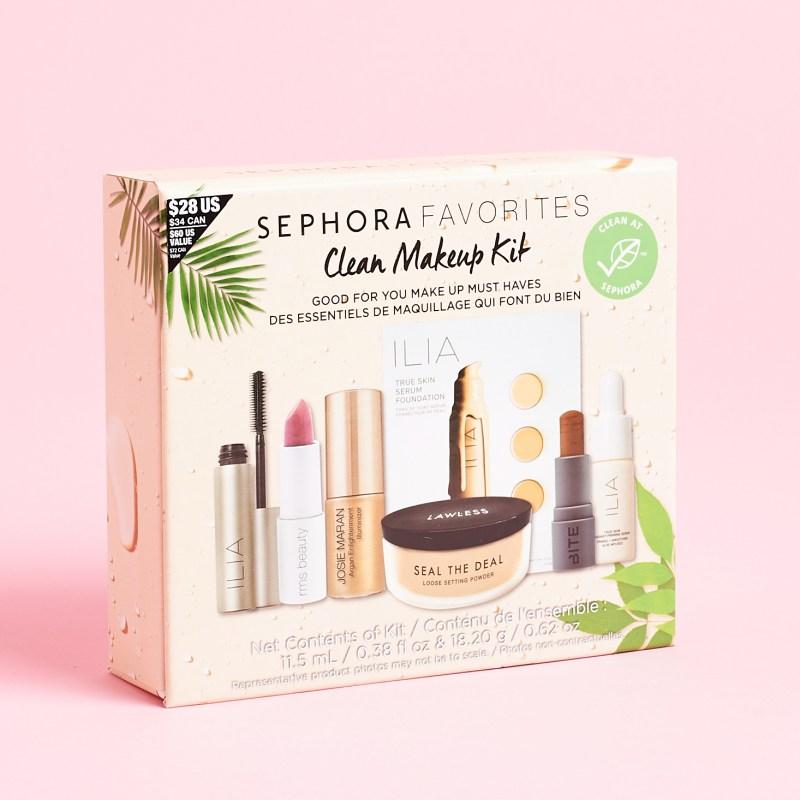 Sephora Favorites Clean Makeup Kit