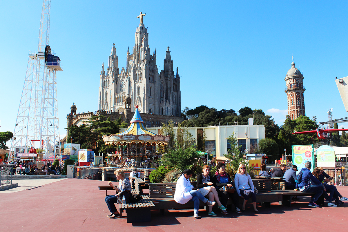 Playing in Toy Land: A trip to Tibidabo