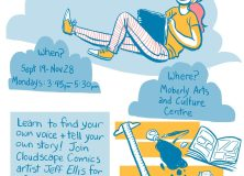 Comics in the Clouds for 15-24 yrs