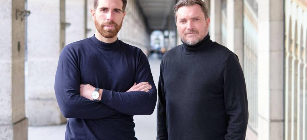 Damien David et Laurent Sabouret
