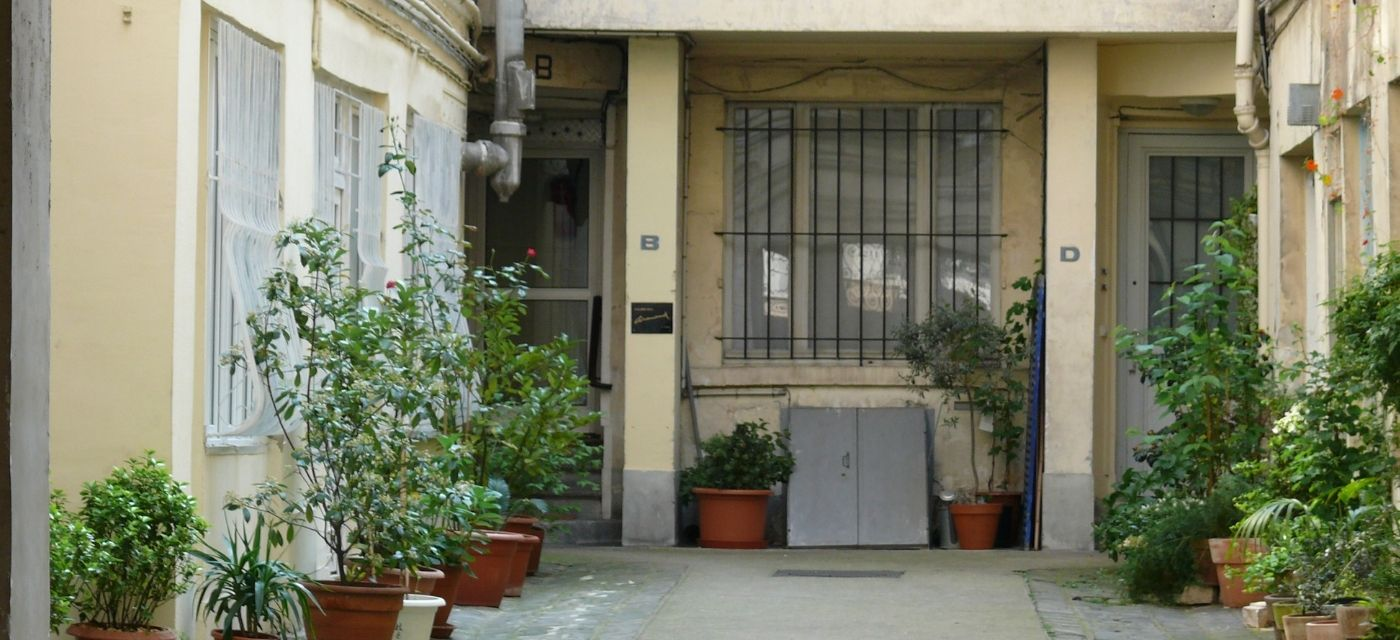 immobilier - cour