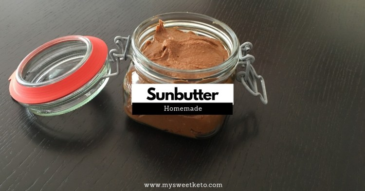 Homemade Sunbutter is an excellent keto-friendly snack. Besides, it's easy to make, and you shouldn't have much difficulty finding organic sunflower seeds out there. #keto #ketodiet #ketogenic