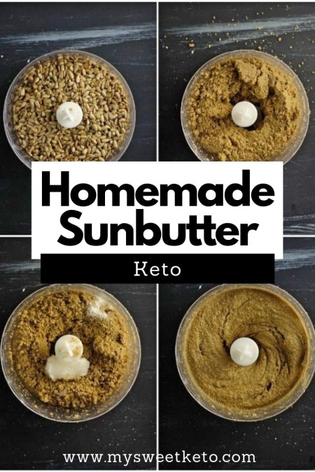 """Sunbutter doesn't even need the """"keto"""" prefix in its name. It's an awesome choice if you or your loved ones happen to have a nut allergy. #keto #butter #sunbutter #ketogenic"""