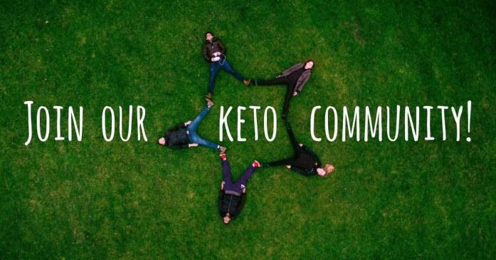 Ketogenic diet community