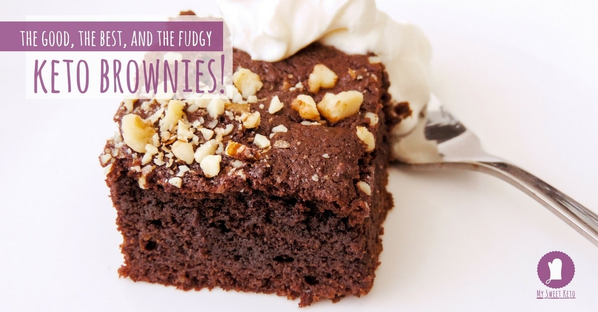 Best Fudgy Keto Brownies
