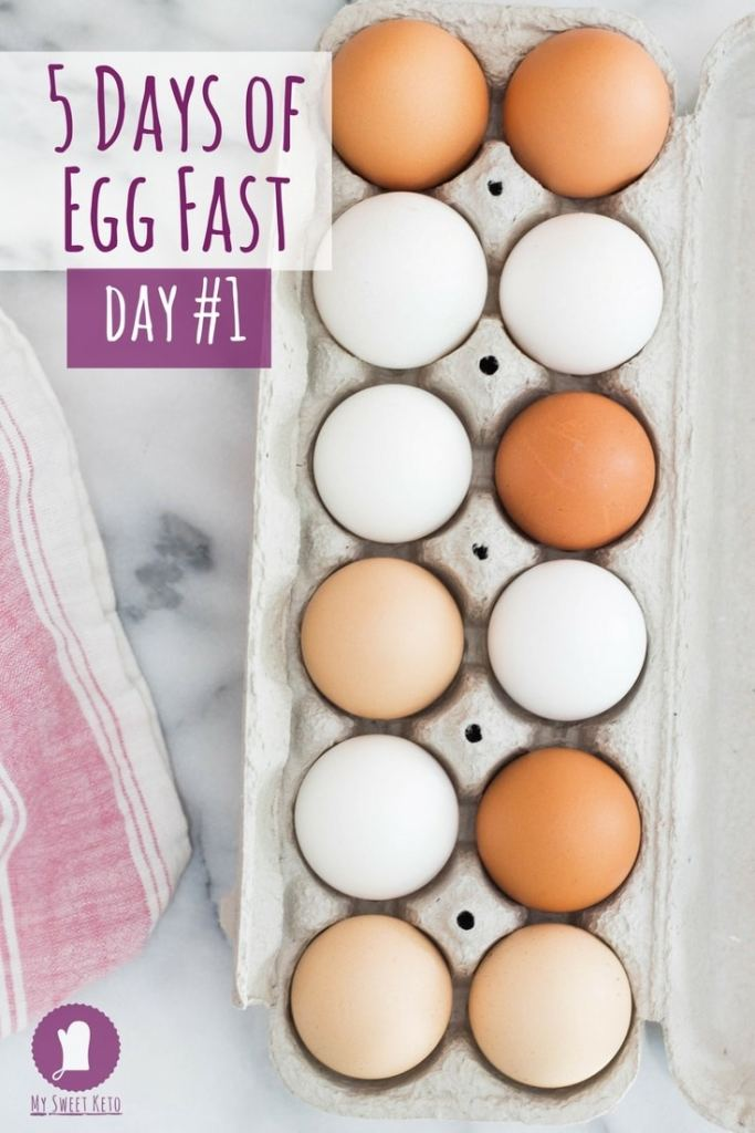 Egg Fast Five Days Day 1