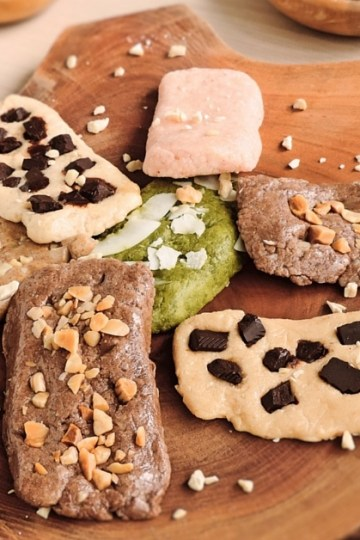 LCHF homemade Quest bars