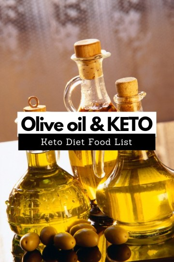Keto Diet Food List. Is olive oil good for keto diet? #ketodiet #keto #ketogenic