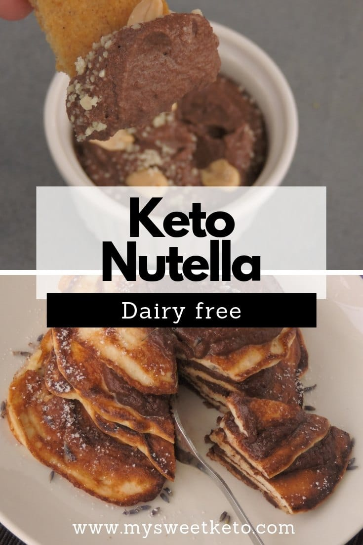 That creamy spread turns out to be mostly sugar with hazelnuts in traces. I've decided to make Keto Nutella sugar-free and dairy-free. #keto #ketogeni #lowcarb #ketorecipe #mysweetketo