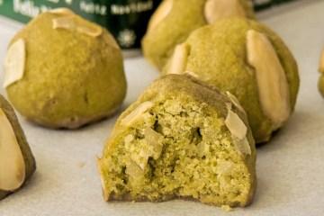 Keto Marzipan Cookies