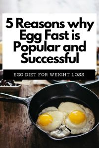 An egg fast is popular among people who seek to break through weight loss plateaus.