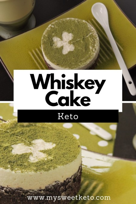 This keto-friendly cake for whiskey lovers can help you take it easy, relax, and celebrate in the company of your friends. #keto #ketocake #ketogenic #lowcarb #dessert #mysweetketo