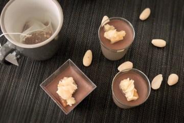 Vegan keto chocolate pudding recipe