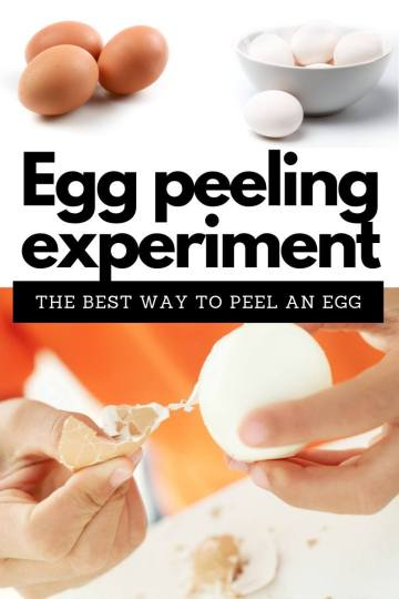 The best way to peel an egg