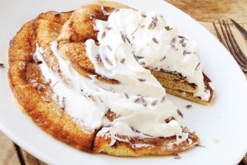 Egg fast pancakes recipe