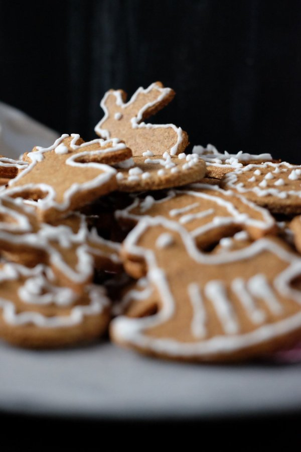Keto Gingerbread Cookies recipe by My Sweet Keto