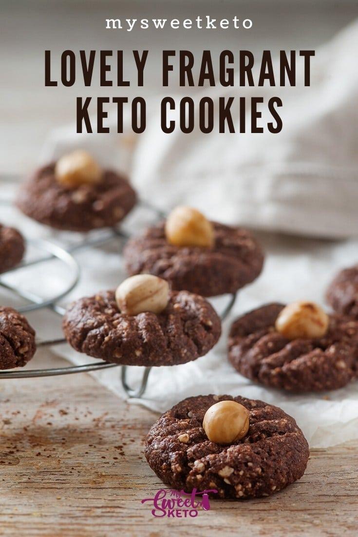 Lovely Fragrant Keto Cookies - mysweetketo
