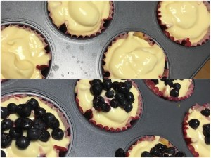 Low-Carb Blueberry Cheesecakes Recipe by My Sweet Keto