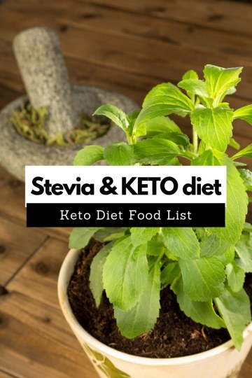 Stevia and keto diet. Should You Use Stevia on the Keto Diet? #keto #stevia #steviaonketo #ketogenic #ketofam