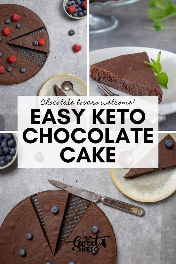 This keto chocolate cake is super easy to make, using the ingredients you are bound to have around the house. Chocolate lovers welcome! Easy Keto Chocolate Cake Recipe