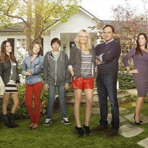 """TROPHY WIFE - """"Trophy Wife"""" stars Malin Akerman (""""Suburgatory"""") as Kate, Bradley Whitford (""""The West Wing"""") as Pete, Marcia Gay Harden (""""Into the Wild,"""" """"Damages"""") as Diane, Michaela Watkins (""""Saturday Night Live"""") as Jackie, Natalie Morales (""""90210"""") as Meg, Ryan Scott Lee (""""Super 8"""") as Warren, Albert Tsai (""""How I Met Your Mother"""") as Bert and Gianna LePera (""""Modern Family"""") as Hillary. """"Trophy Wife"""" is written and executive-produced by Emily Halpern & Sarah Haskins, executive produced by Lee Eisenberg & Gene Stupnitsky (""""The Office""""), produced by Malin Ackerman. The pilot was directed by Jason Moore (""""Pitch Perfect,"""" """"Avenue Q""""). """"Trophy Wife"""" is from ABC Studios. (ABC/Craig Sjodin)"""