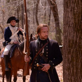 SLEEPY HOLLOW: Ichabod Crane (Tom Mison) in the Revolutionary war, in the premiere episode of SLEEPY HOLLOW premiering Monday, Sept. 16 (9:00-10:00 PM ET/PT) on FOX. ©2013 Fox Broadcasting Co. CR: Kent Smith/FOX