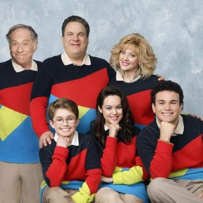"THE GOLDBERGS - ""The Goldbergs"" stars Wendi McLendon-Covey (""Bridesmaids"") as Beverly, Jeff Garlin (""Curb Your Enthusiasm"") as Murray, George Segal (""Don't Shoot Me"") as Pops, Hayley Orrantia (""The X Factor"") as Erica, Sean Giambrone as Adam and Troy Gentile (""Good Luck Chuck"") as Barry. ""The Goldbergs"" was written and executive-produced by Adam F. Goldberg (""Breaking In,"" ""Fanboys"") and also executive produced by Doug Robinson. The pilot was directed by Seth Gordon (""Identity Thief,"" ""Horrible Bosses""). ""The Goldbergs"" is from Adam Sandler's production company, Happy Madison, and is produced by Sony Pictures Television.  (ABC/Craig Sjodin)"