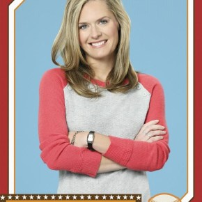"BACK IN THE GAME - ABC's ""Back in the Game"" stars Maggie Lawson as Terry Gannon, Jr.. (ABC/Bob D'Amico)"